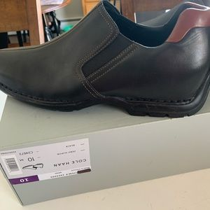 Cole Haan leather loafers NEW in box